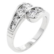 Sunrise Wholesale Merchandise J3562 Curve Ring (size: 06)