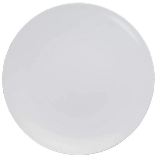 Trendables 10 Disposable Plastic Dinner Plates 40 Pack Heavy