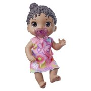 Baby Alive Baby Lil Sounds: Interactive Black Hair Baby Doll, Includes Dress and Pacifier