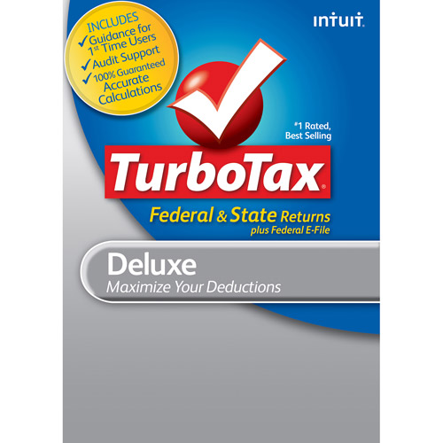 TurboTax Deluxe Fed+State+Efile 2012