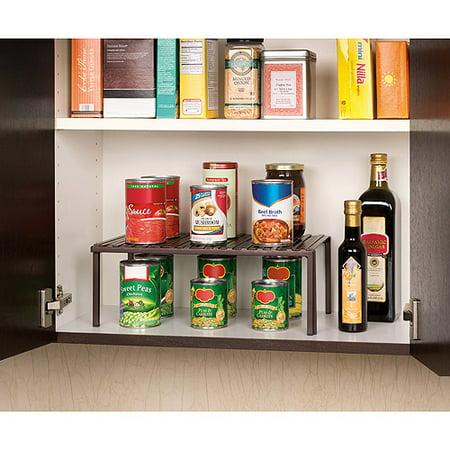 Seville Classics Expandable Kitchen Shelf She14103b Walmartcom