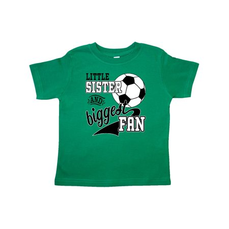 Little Sister and Biggest Fan- soccer player Toddler (Best Female Soccer Player Ever)