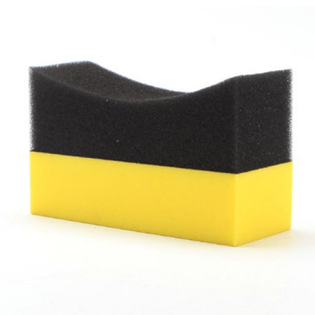 Curved Pads (Car Professional Tyre Tire Dressing Applicator Multifunctional Curved Foam Sponge Pad )