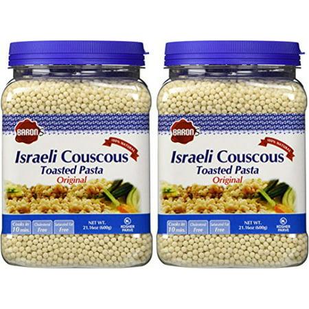 Toasted Israeli Couscous (Baron's Kosher Original Traditional Israeli Couscous Toasted Pasta 21.16-ounc... )