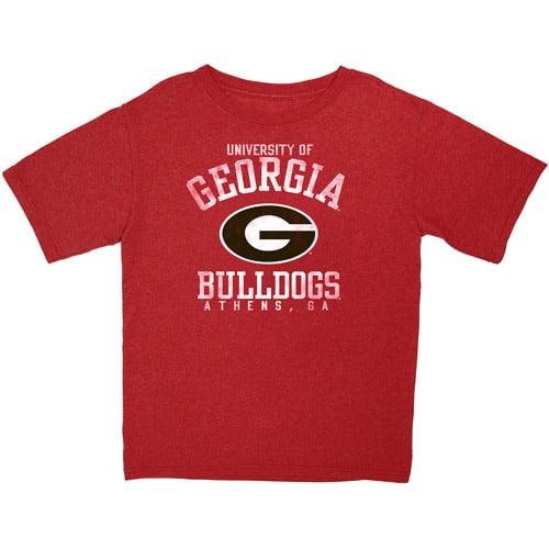 NCAA Boys Georgia Short Sleeve Tee