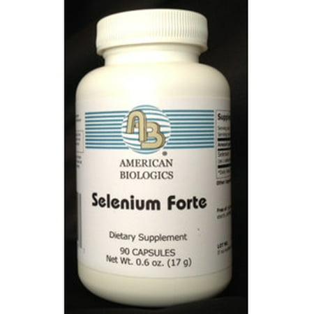 American Biologics, Selenium Forte 200 mcg 90 - 200 Mcg 90 Caps