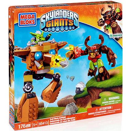 Mega Bloks Skylanders Giants Troll Mech Ambush Play Set