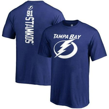 Steven Stamkos Tampa Bay Lightning Fanatics Branded Backer Name & Number T-Shirt -