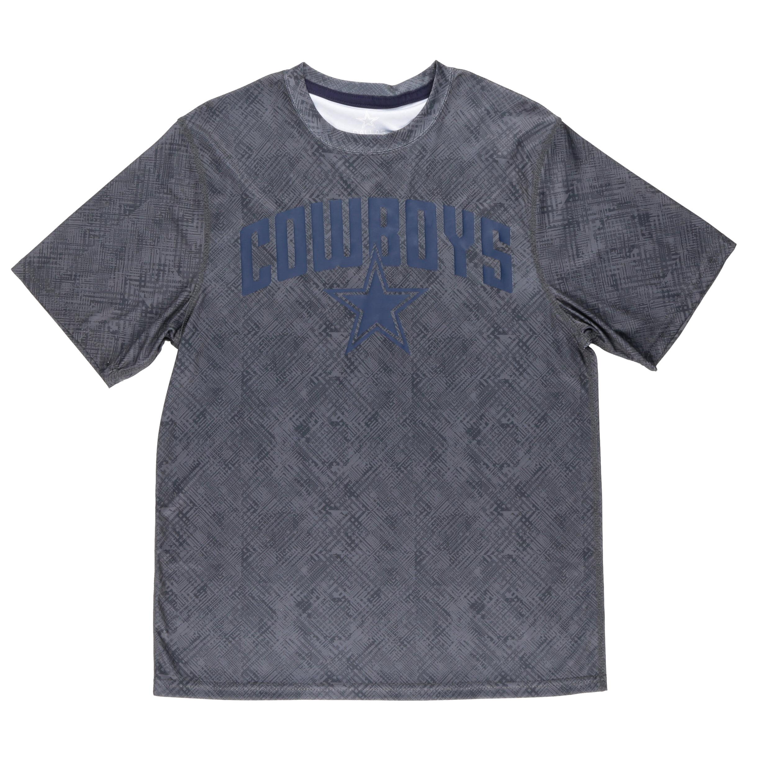 NFL Dallas Cowboys Big Men's Everette Short Sleeve Performance Tee Shirt