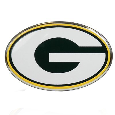 Green Bay Packers Color Auto Emblem