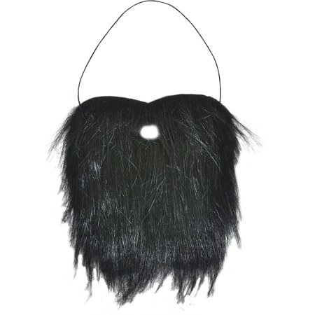 Black Mountain Man Facial Hair Bushy Beard Costume (Halloween Facial Hair)