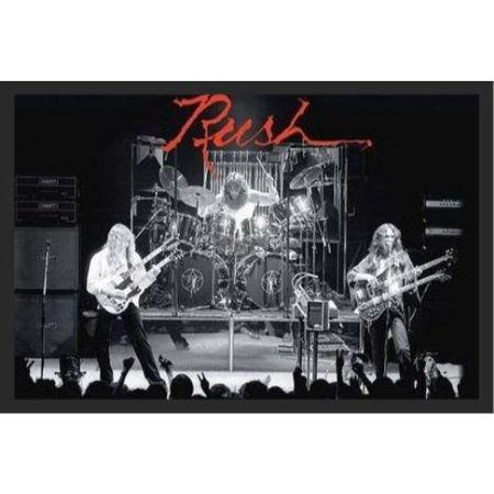 Group Art Poster (Rush - Hemispheres Live On Stage  36x24 Poster Music Art Print Band)