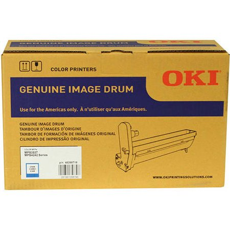 Cuban Drum - OKI Cyan Image Drum (30,000 Yield)