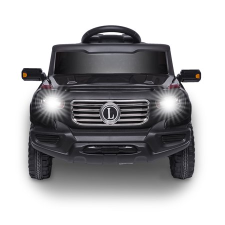 Ktaxon 6V Kids Ride-On Car RC Toy w/ Remote Control, 3 Speeds with LED