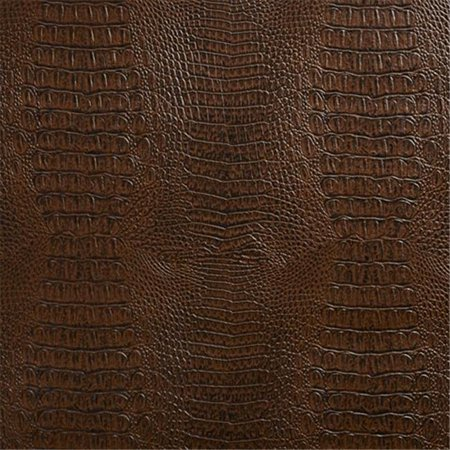 Faux Leather Wine (Designer Fabrics G033 54 in. Wide Brown, Crocodile Faux Leather Vinyl Fabric)