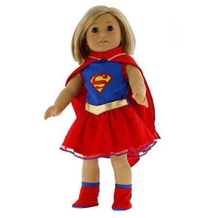 Super Girl Doll Clothes for 18