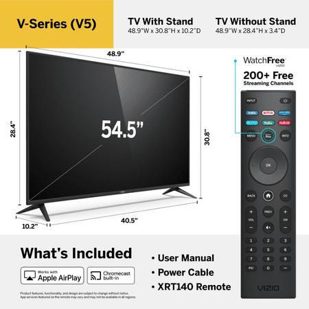 "VIZIO 55"" Class 4K UHD LED SmartCast Smart TV HDR V-Series V555-H"
