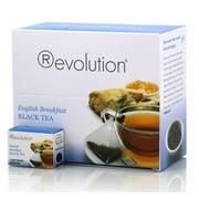 (Price/Case)Revolution Tea 20-6250 Tea English Breakfast Black 4-2.33 Ounce