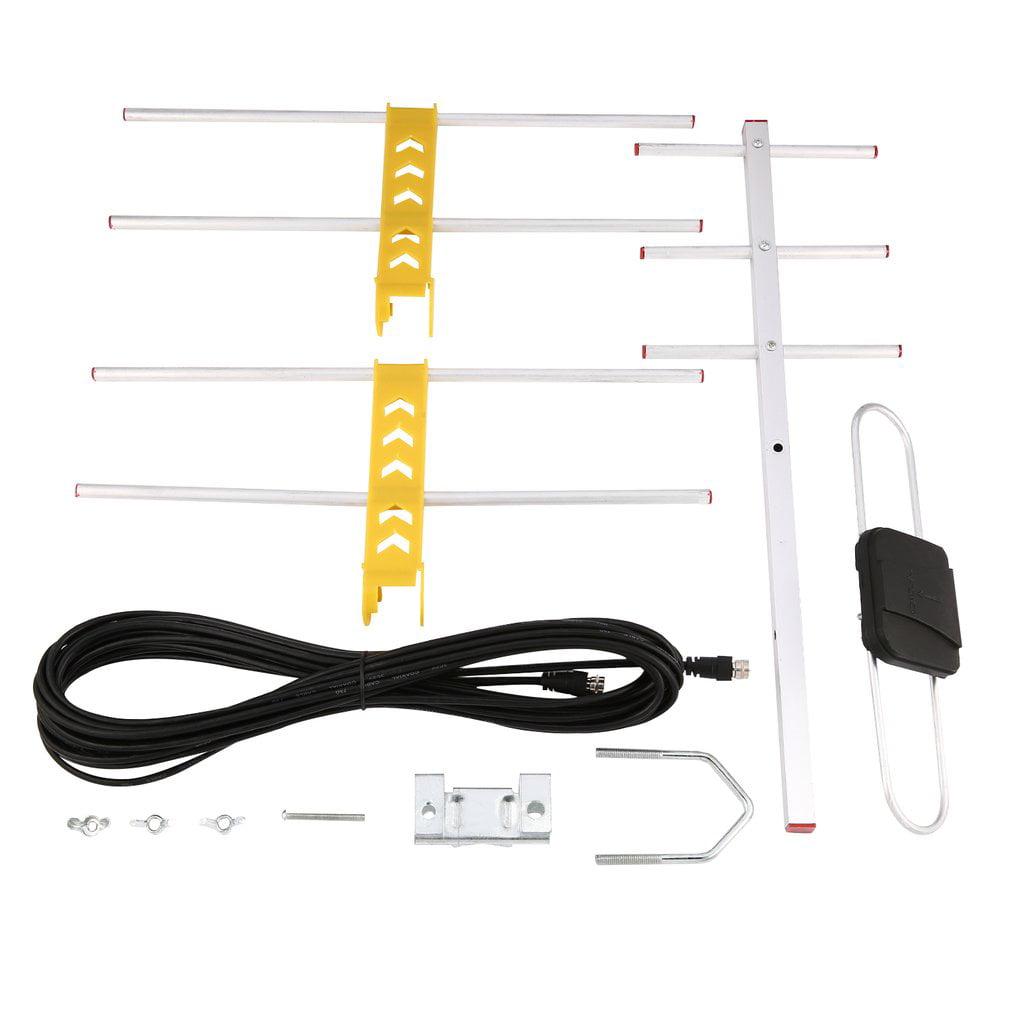 Lan Hd8e Outdoor Hd Digital Tv Antenna For Dvbt2 Hdtv Isdbt Wiring Atsc High Gain Strong Signal