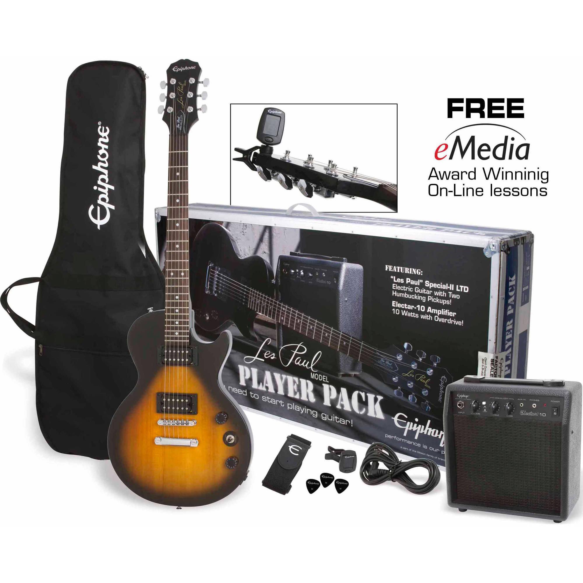 """Les Paul Guitar epiphone les paul special ii players 43"""" electric guitar pack"""