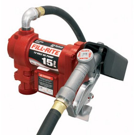 Fill-Rite FR1210G 12V DC Pump with Manual Nozzle ()