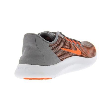 bc1d3e6c020a0 Nike Men s Flex 2018 Rn Newsprint   Dark Stucco Ankle-High Mesh Running Shoe  ...