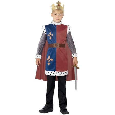 Medieval King Arthur Child Costume
