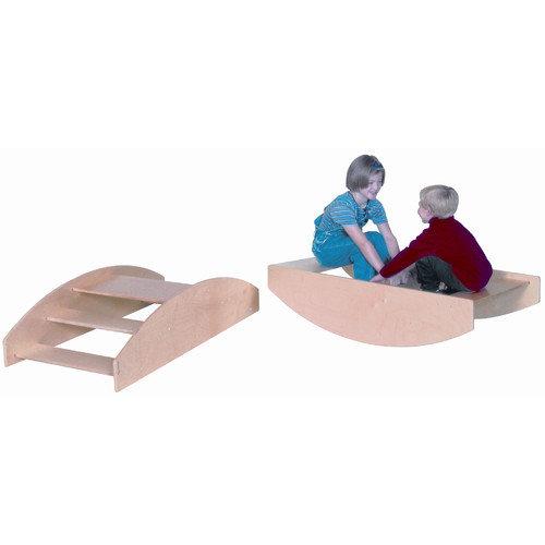 Wood Designs Rocking Rowboat