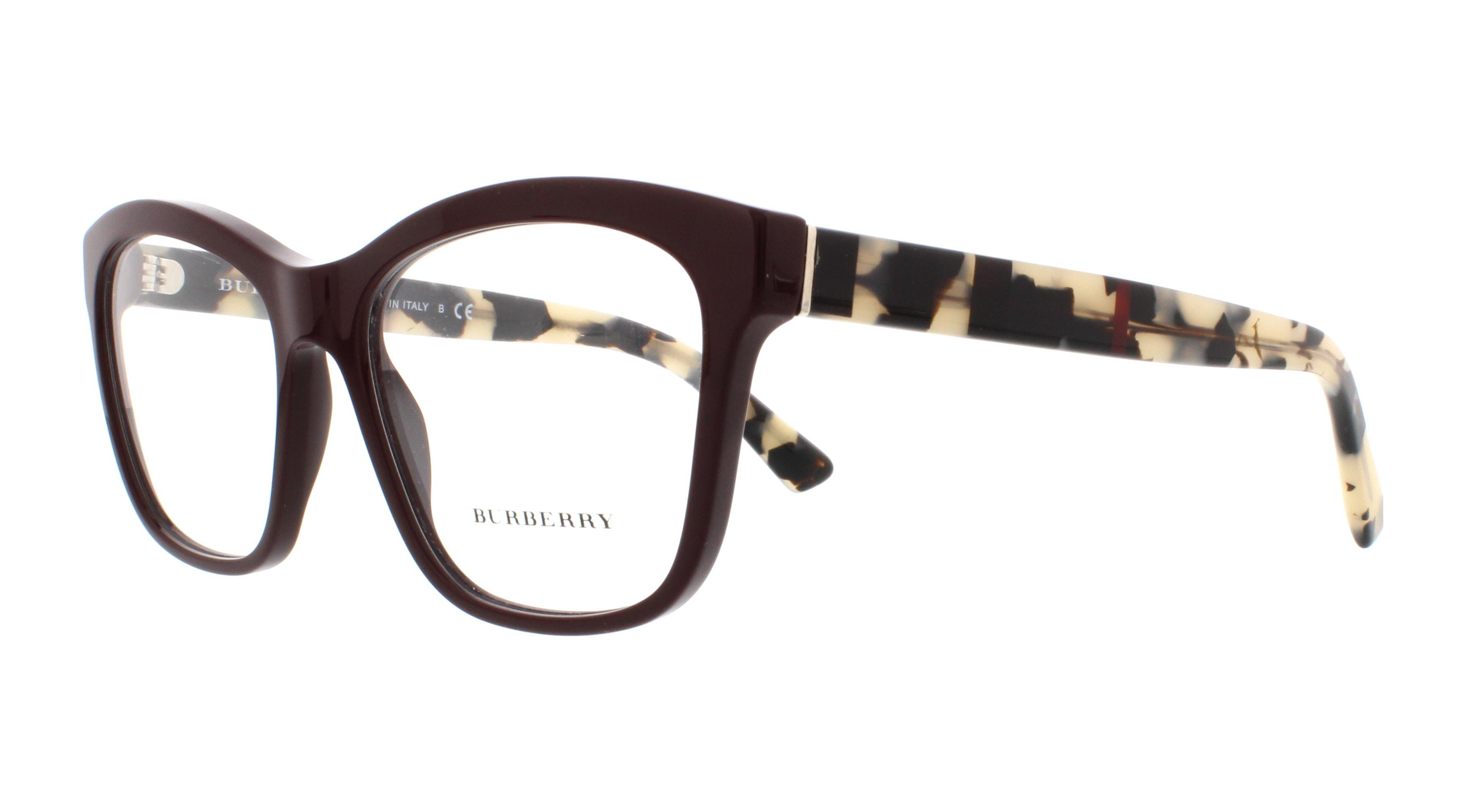 BURBERRY Eyeglasses BE2227 3602 Bordeaux 54MM - Walmart.com 5a17cc4f8d10