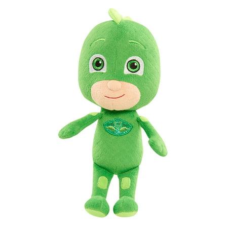 PJ Masks Beans Plush - Gekko (Green Bean Toy)