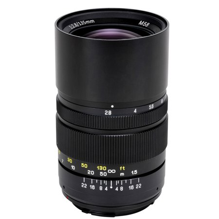 Oshiro 135mm f/2.8 LD UNC AL Telephoto Full Frame Prime Lens for Canon EOS 80D, 70D, 60D, 60Da, 50D, 1Ds, 7D, 6D, 5D, 5DS, Rebel T6s, T6i, T6, T5i, T5, T4i, T3i, T3, T2i and SL1 Digital SLR (Best Prime Lens For Canon 80d)