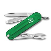 Swiss Army Victorinox Classic SD Pocket Knife - Translucent Emerald