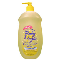 Baby Magic Gentle Hair And Body Wash With Soft Baby Scent - 30 Oz