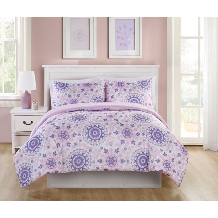 interior medallion bed bedding home teen pictures rh design collection washed