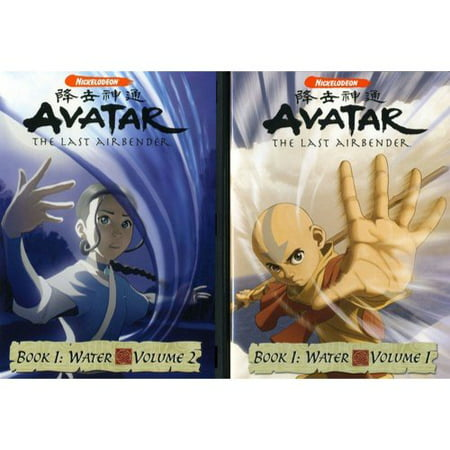 Avatar The Last Air Bender  Book 1 Water  Vols 1   2