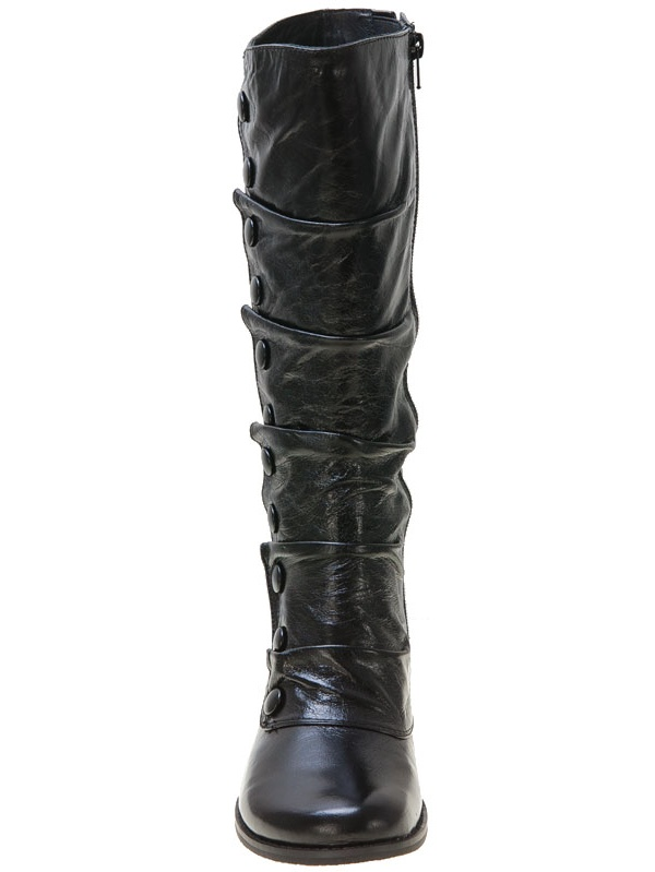 Miz Mooz Bloom Wide Calf Women's Wedge Boot