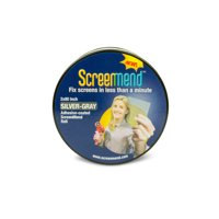 """Screenmend Door and Window Screen Repair Roll, Silver-Gray, 2x80"""""""
