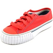 PF Flyers Center Lo Reissue Youth  Round Toe Canvas Red Sneakers