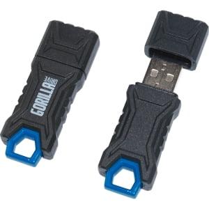 8GB GORILLADRIVE FLASH DRIVE USB 2.0 RUGGEDIZED