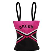 Hot Pink Black Cheer Little Girl Specialty Tote