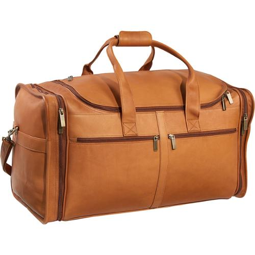 LeDonne Leather Classic Cabin 22-inch Carry On Duffel Bag Tan