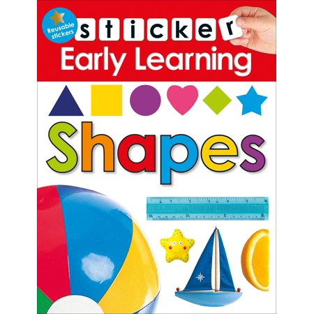 Sticker Early Learning: Shapes - Halloween Early Years Activities