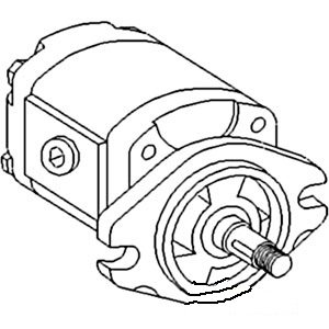 A139692 New Auxiliary Hydraulic Pump Made for Case-IH