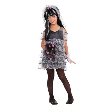 Drama Queen Monster Bride Costume Child (Halloween Korean Drama)