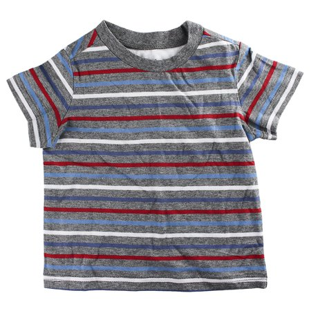 First Impressions Baby Clothes Inspiration First Impressions Baby Boys ShortSleeve Multicolor Stripe TShirt