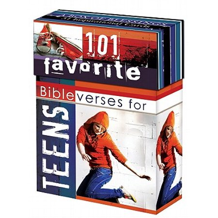 Boxes of Blessing: 101 Favorite Bible Verses for Teens Cards -
