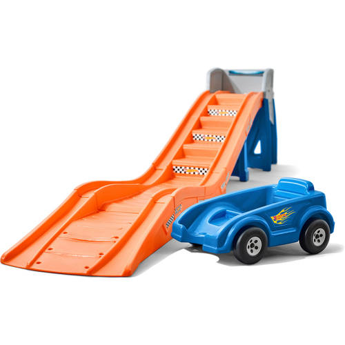 Step2 Hot Wheels Extreme Thrill Coaster Kids Roller Coaster Ride On Toy by Step2