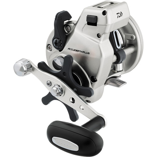 Daiwa Accudepth Plus-B Line Counter Reel, 1 Ball Bearing, 20 lbs/280 yds