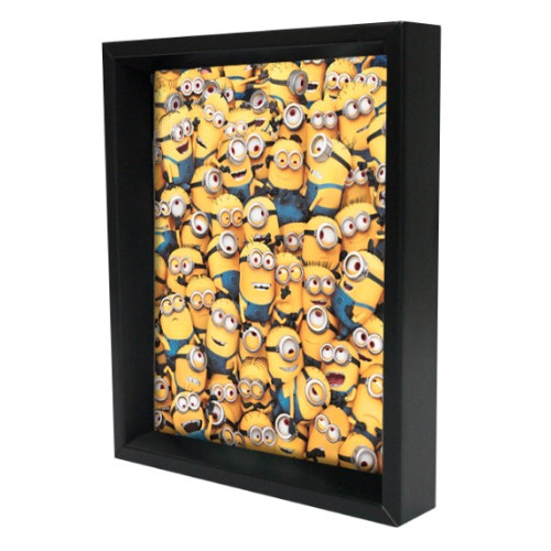 Pyramid America Minions Mass of Minions Framed 3D Graphic Art