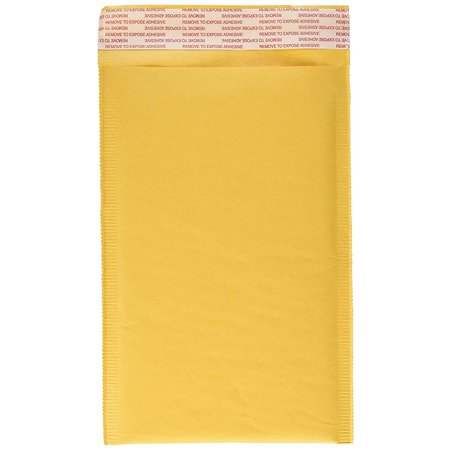 KKBESTPACK #0 6x9 inches Kraft Bubble Mailer, Self Seal Padded Envelopes,250 Per Case